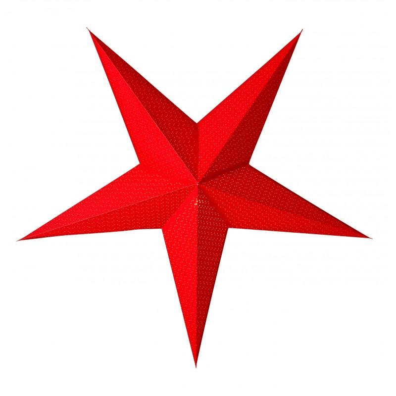 Aino Julstjärna 52cm Röd