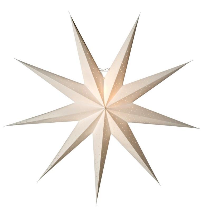 Stella Julstjärna 118cm Vit