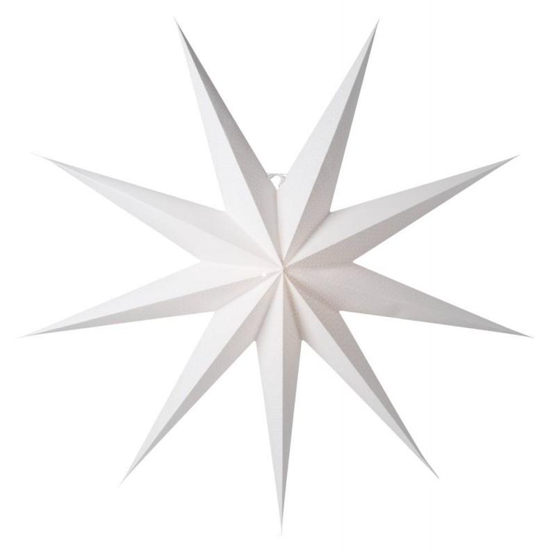 Aino Julstjärna 118cm Vit