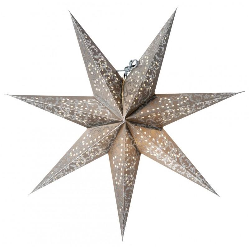 Ludwig Julstjärna 44cm Silver