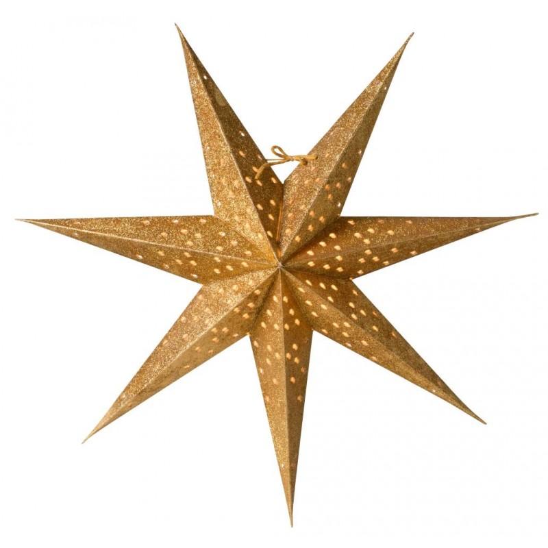 Donna Slim julstjärna 60 guld