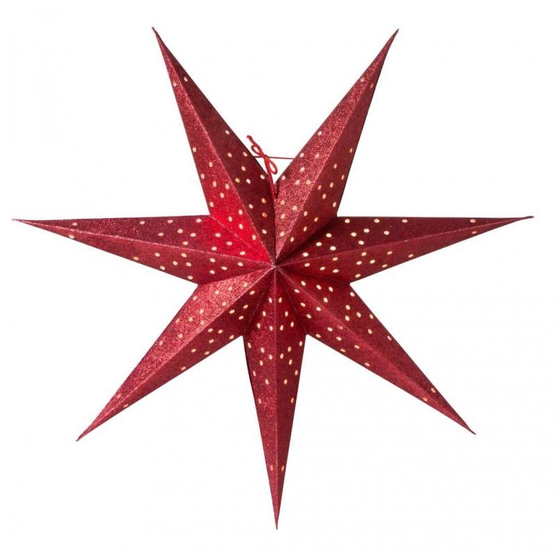 Donna Slim julstjärna 60 röd