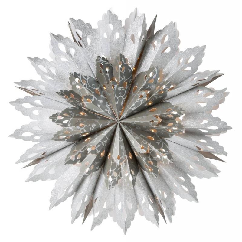 Grace adventsstjärna 60 silver