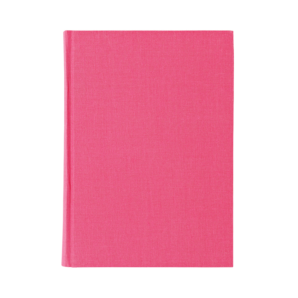 O&R Libro Anteckningsbok A5 Blankt Rosa