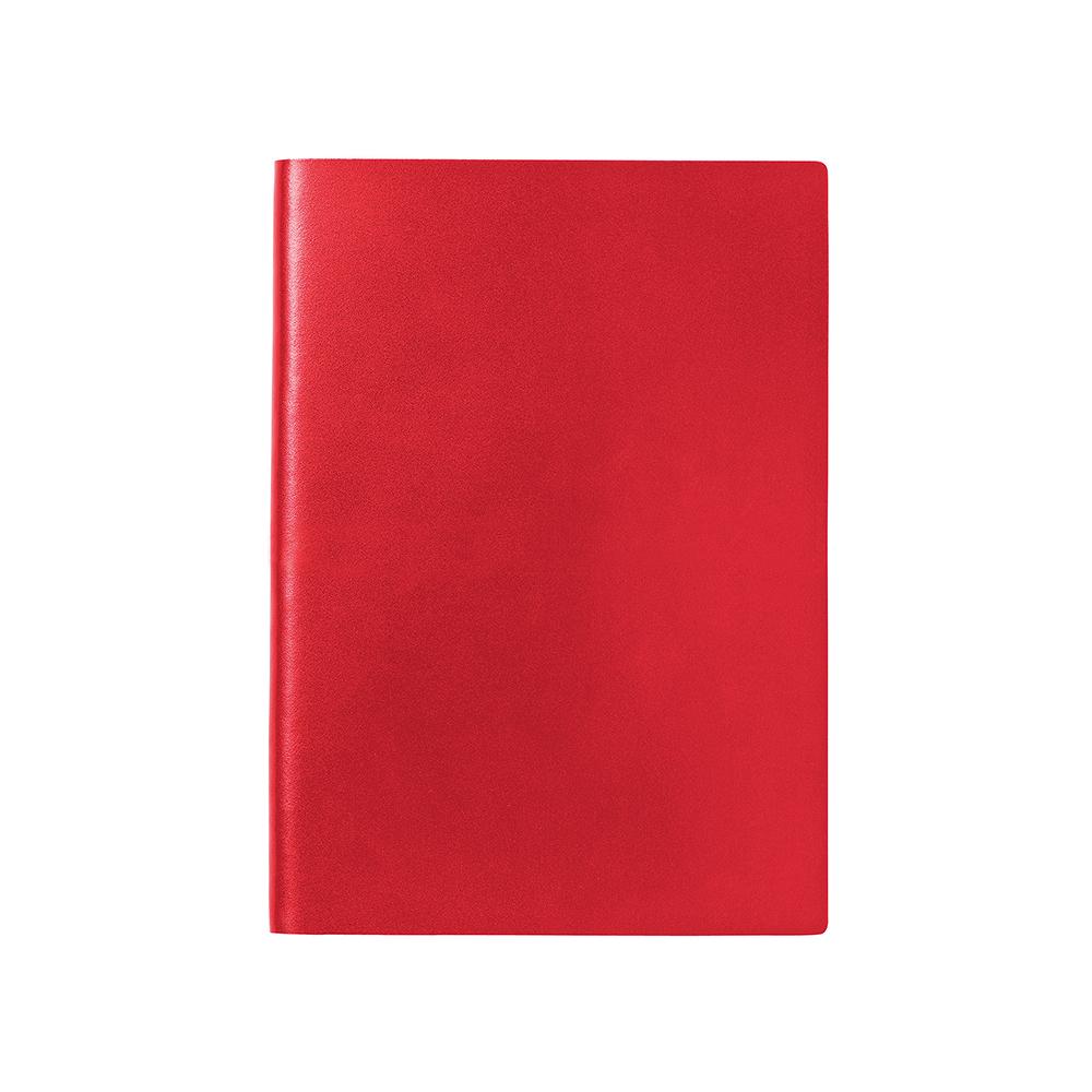 O&R Jorgen Anteckningsbok A4 Blankt Röd