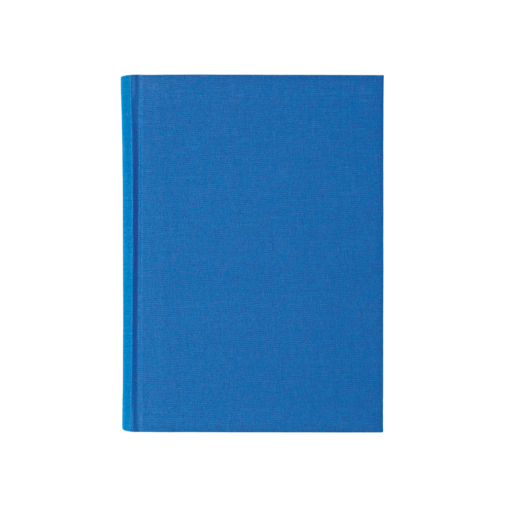 O&R Libro Anteckningsbok A5 Linjerat Blå