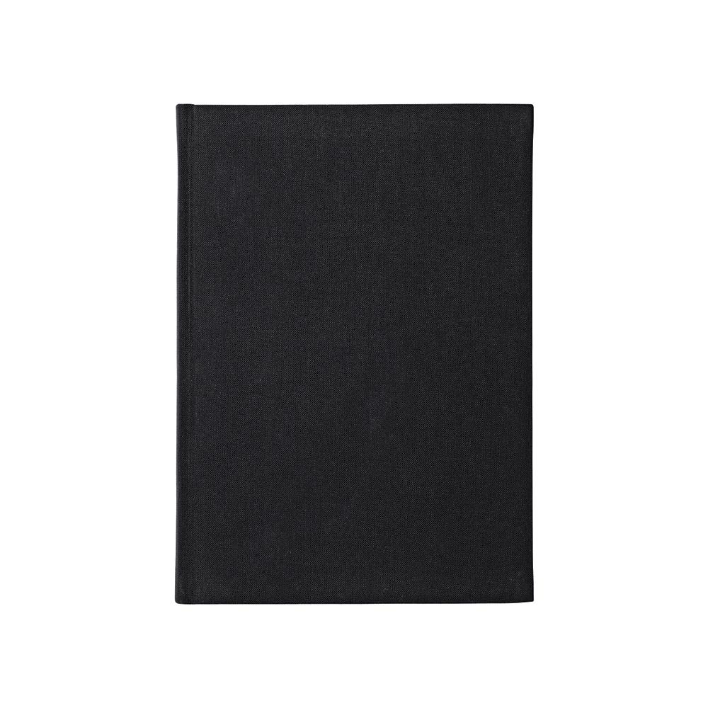 O&R Libro Anteckningsbok A4 Blankt Svart