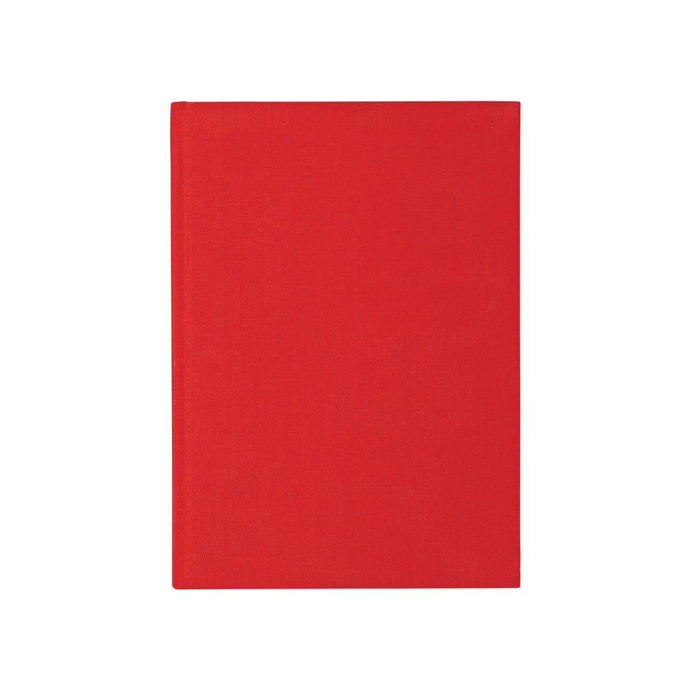 O&R Libro Anteckningsbok A4 Blankt Röd