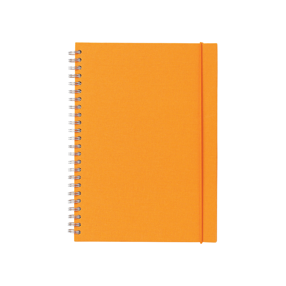 O&R Notes Anteckningsblock A5 Linjerat Orange