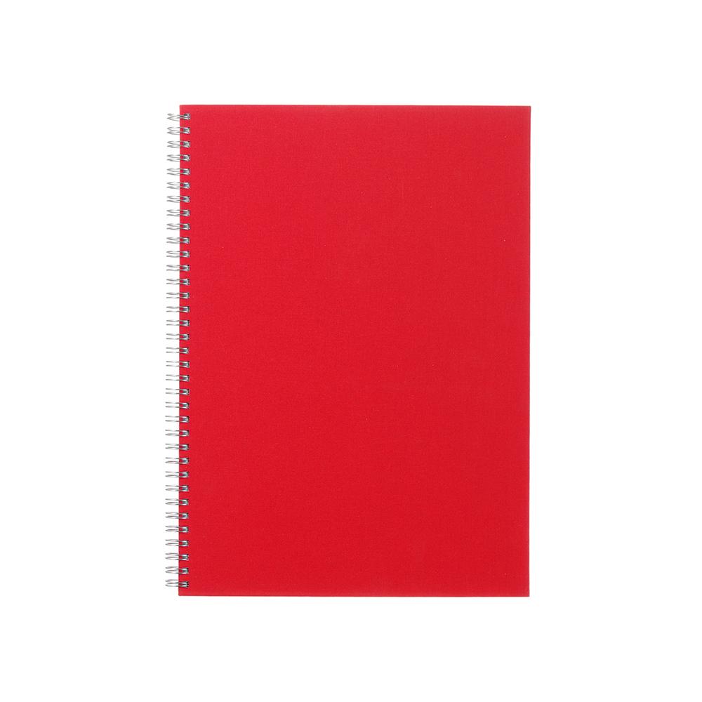 O&R Notes Anteckningsblock A4 Linjerat Röd
