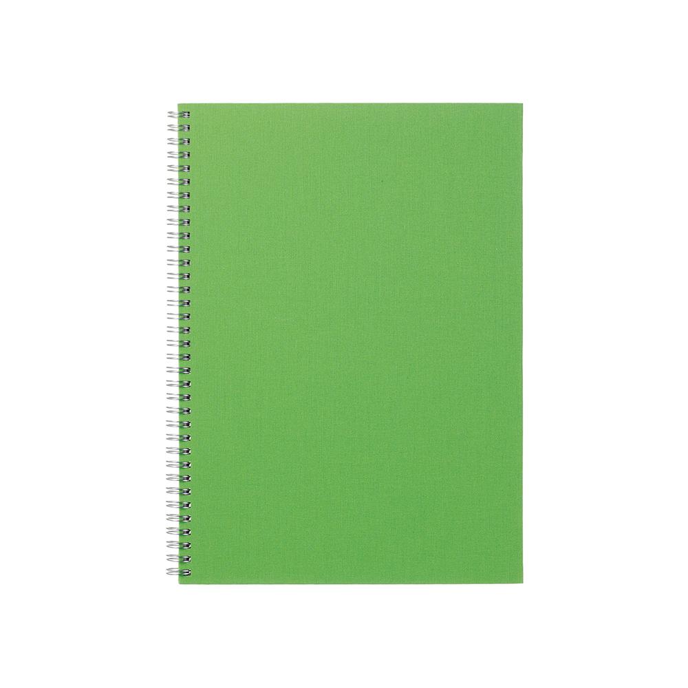 O&R Notes Anteckningsblock A4 Blankt Grön