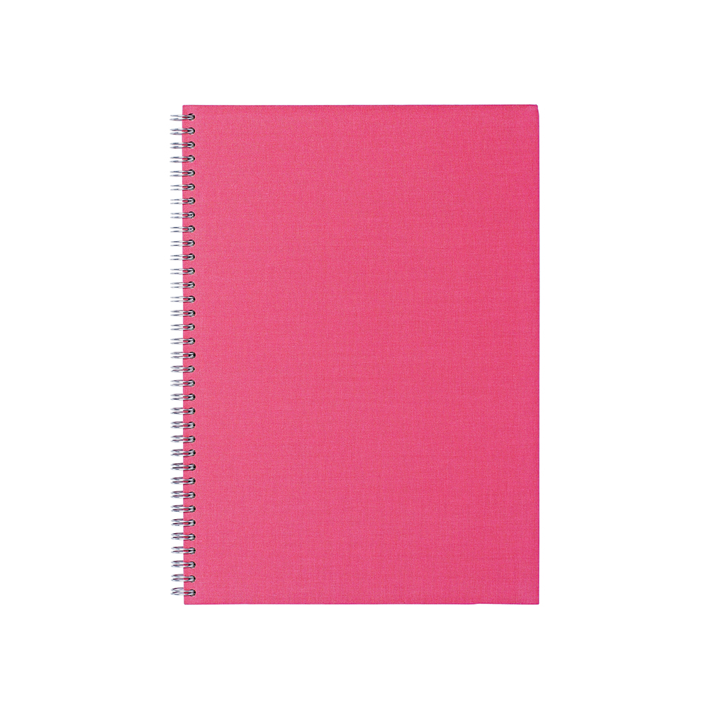 O&R Notes Anteckningsblock A4 Blankt Rosa