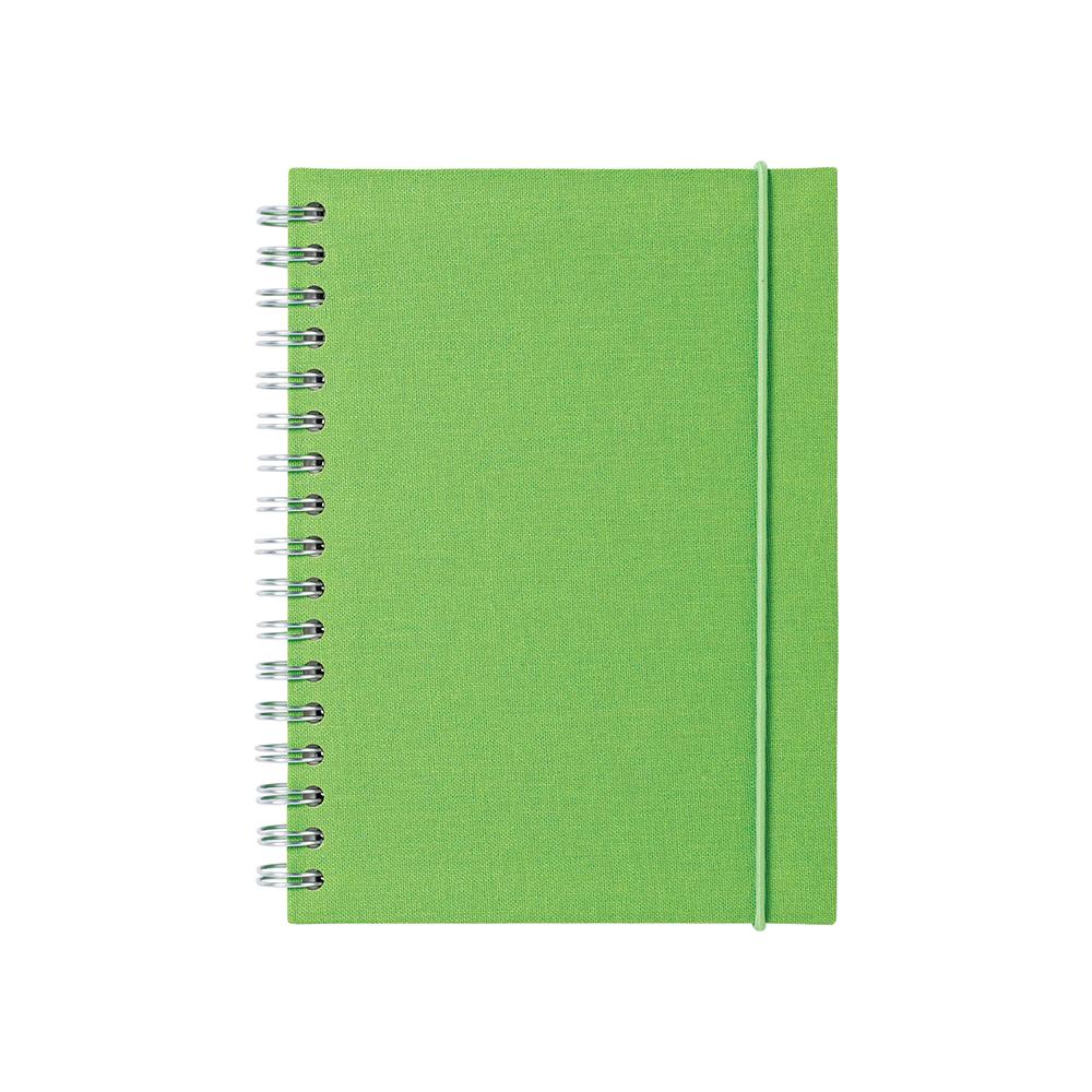O&R Notes Anteckningsblock A6 Linjerat Grön
