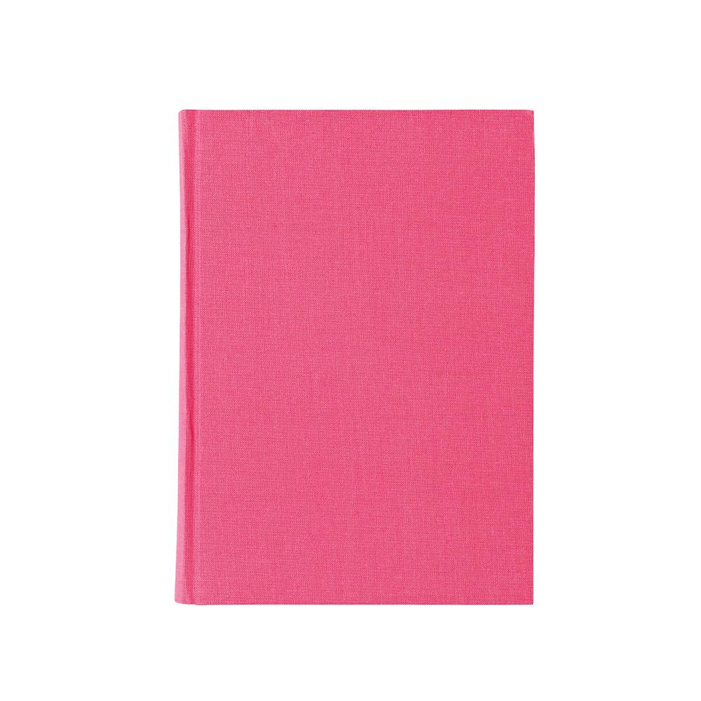 O&R Libro Anteckningsbok A6 Linjerat Rosa