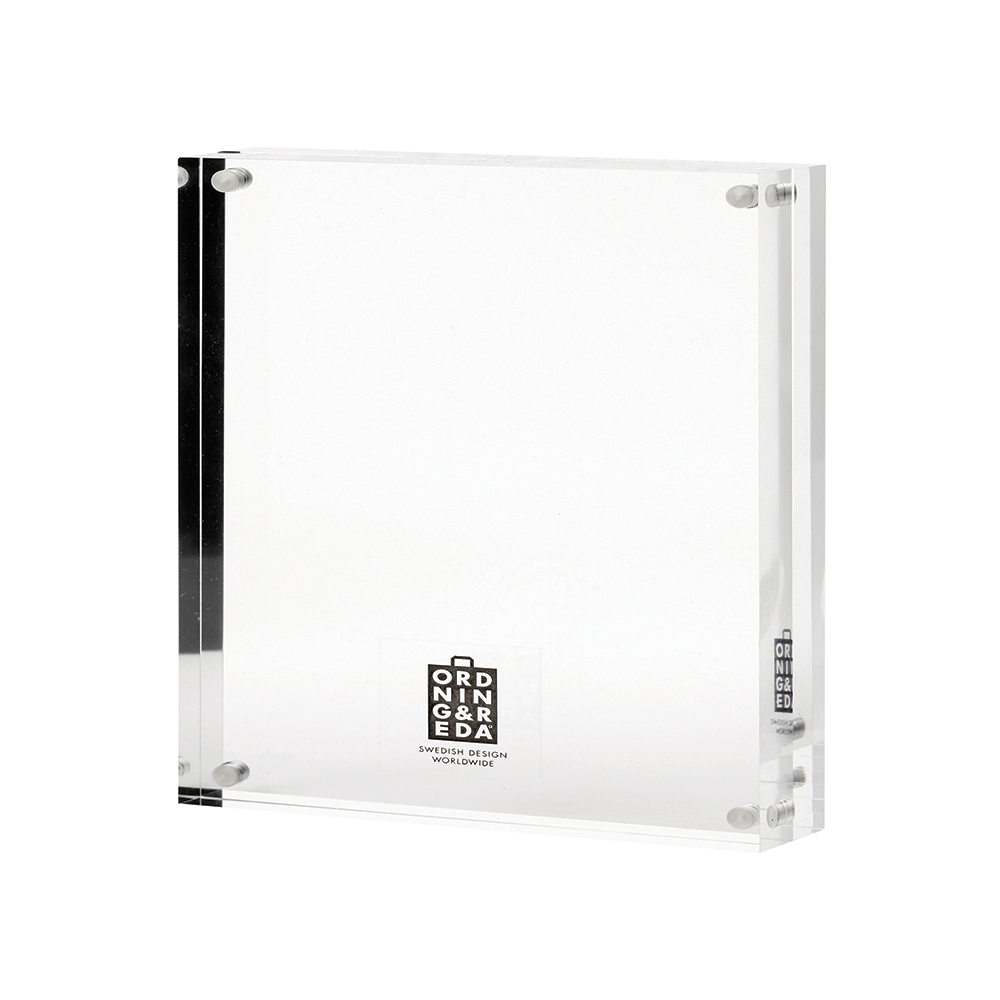 O&R Fotoram 17,5×17,5 cm, Transparent