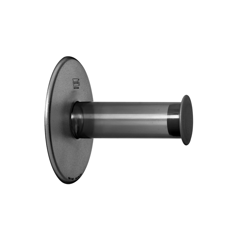 Koziol Plug N Roll Toalettrullehållare, Grå