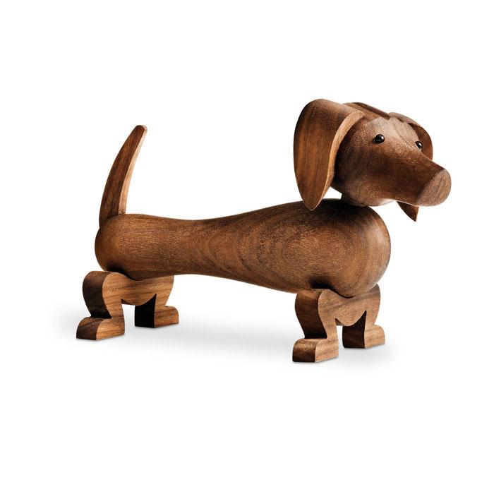 Hund, valnöt, Kay Bojesen