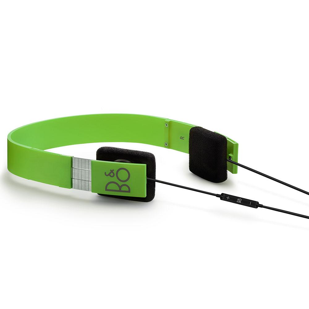 Form 2i Hörlurar Grön