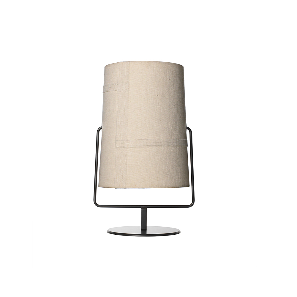 Fork Maxi Bordslampa Elfenben/Grå