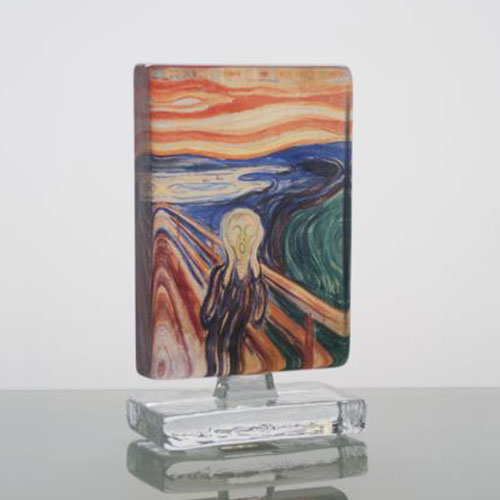 Munch Skriet 10x14cm