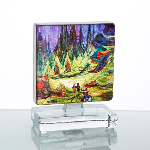 Munch Äventyrsskogen 10x10cm