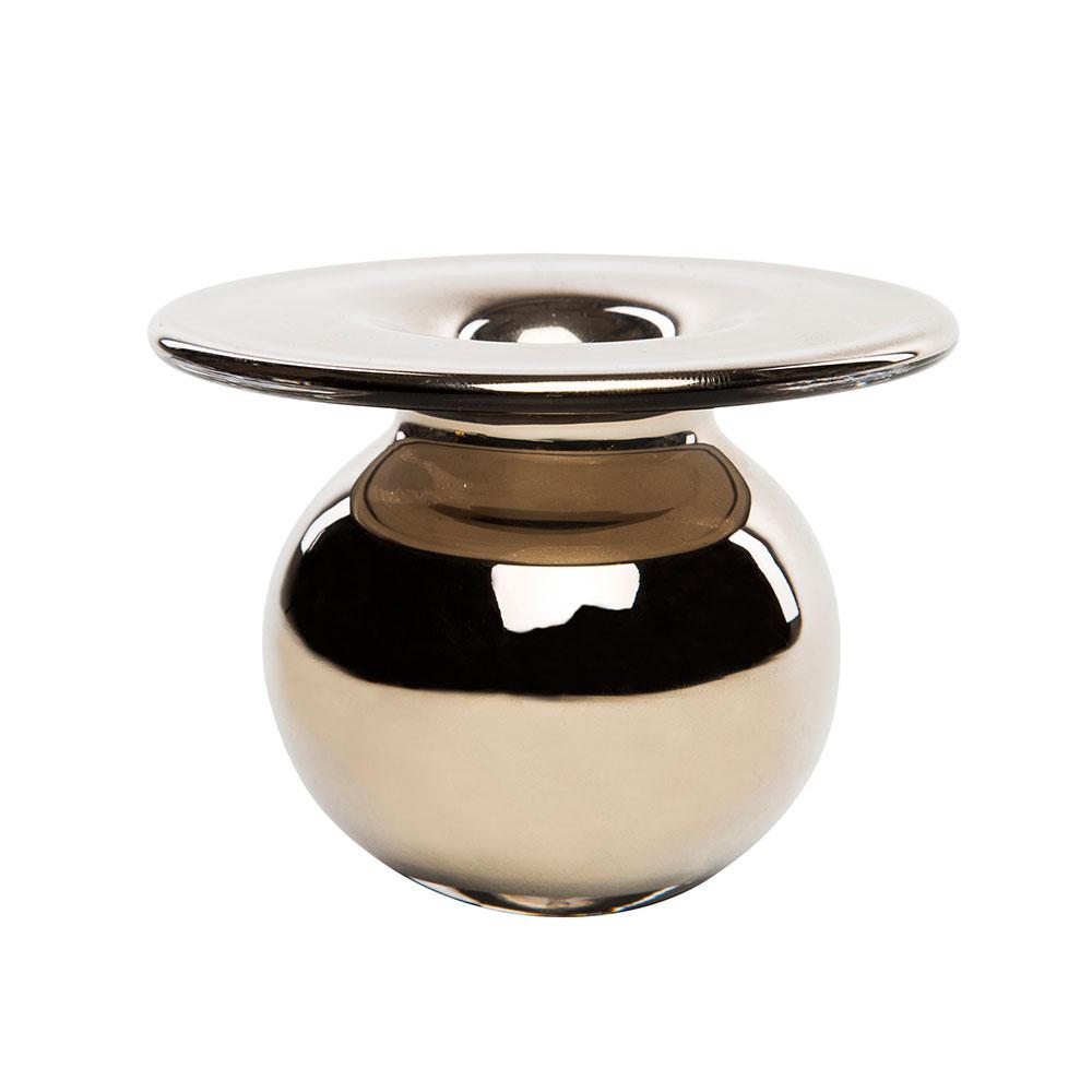 Boblen Glam Mini Vas Silver