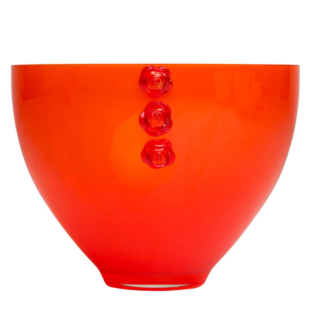 Rose Skål 255mm Orange