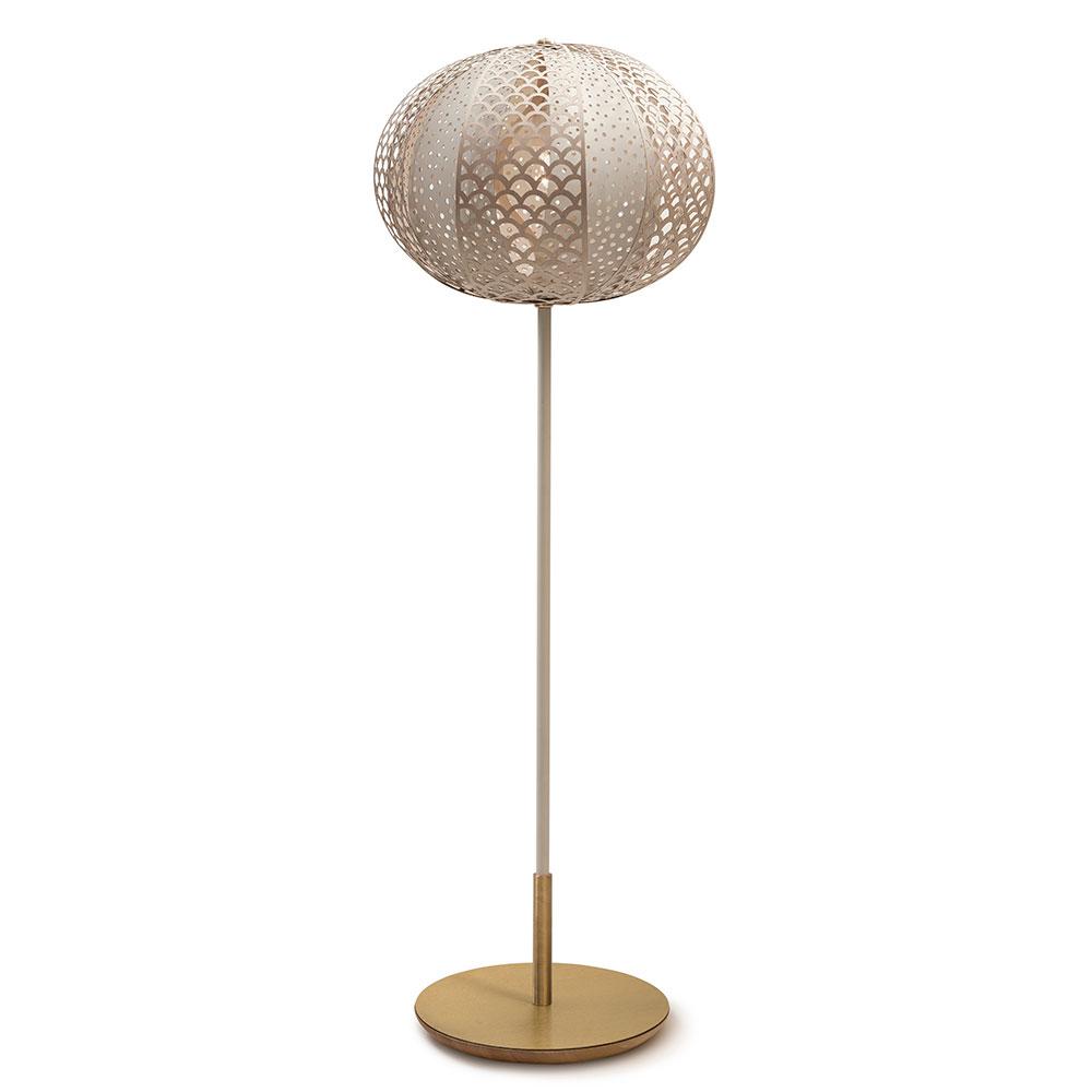 Knopp Golvlampa 150cm Vit