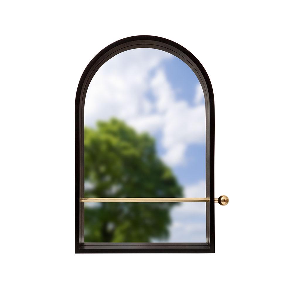 Geometri Spegel Svart