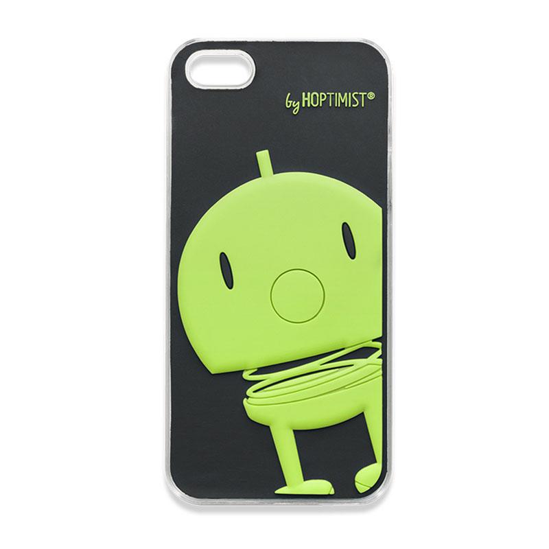 Hoptimist iPhone 5 Skal, Svart/Grön