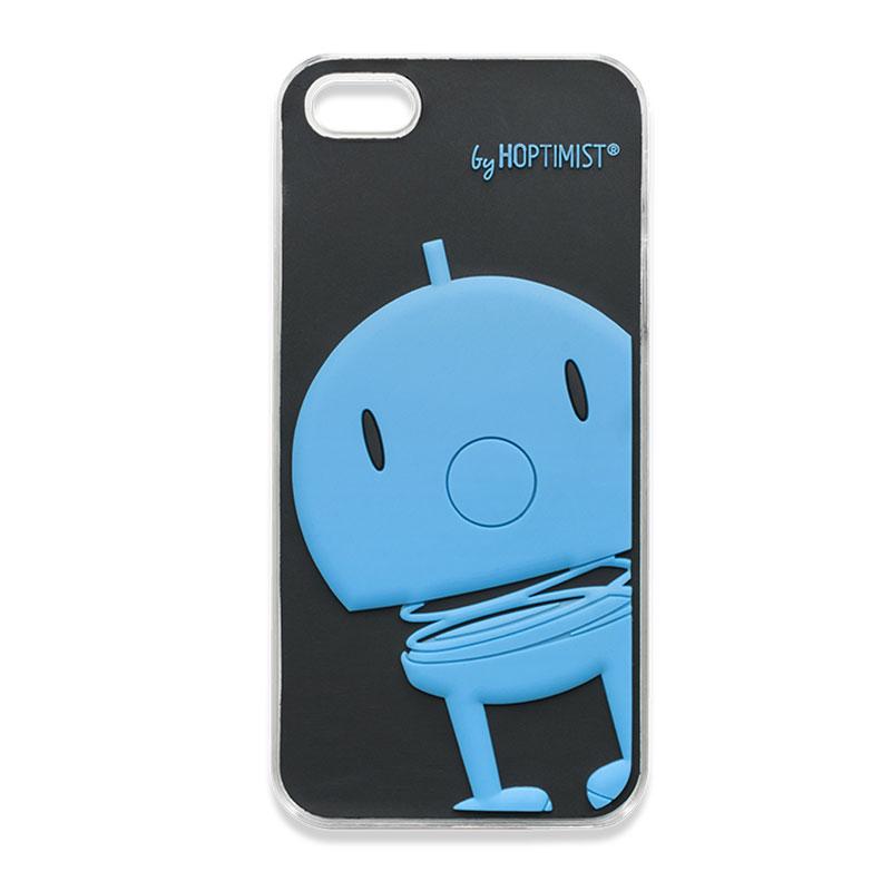 Hoptimist iPhone 5 Skal, Svart/Blå