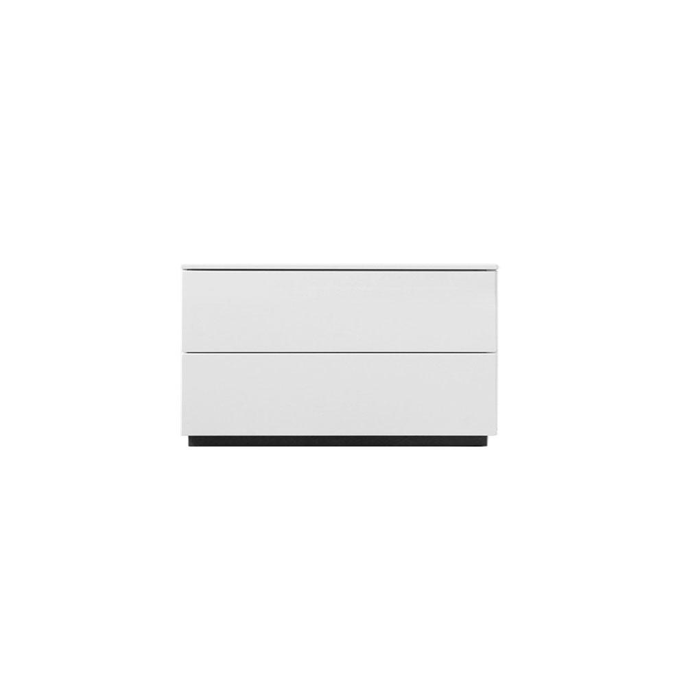 byrå vit högglans ~ möbler