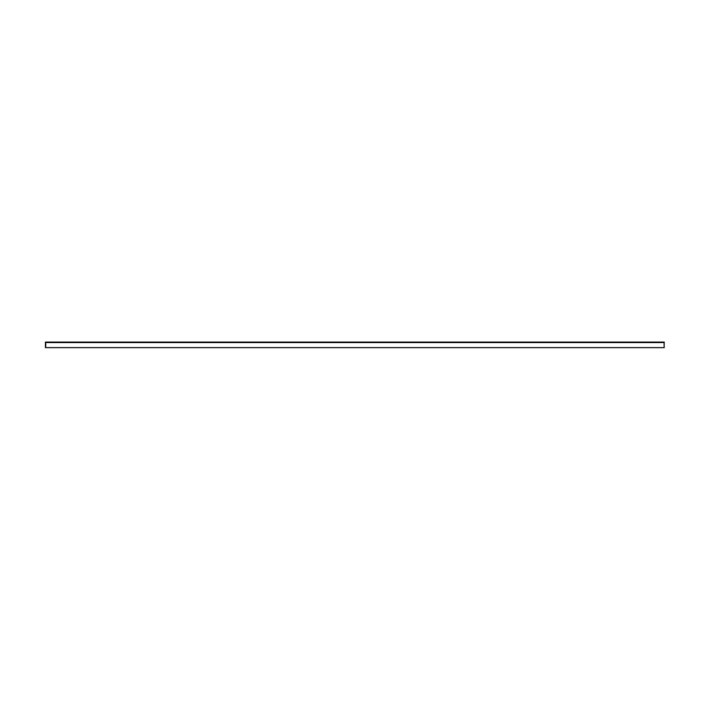 Libro Toppskiva 240x40x2,5cm Vit
