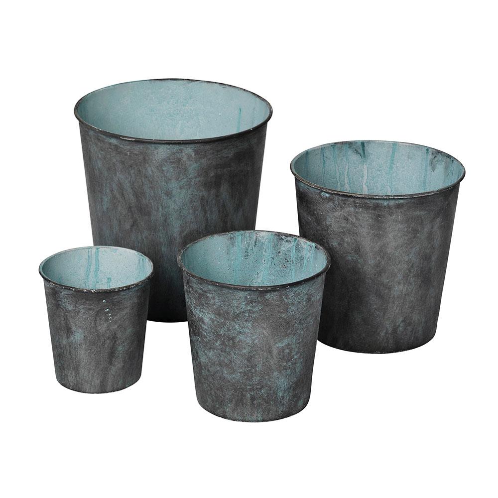 Albus Blomkruka Set 4-Pack, Antique Grey