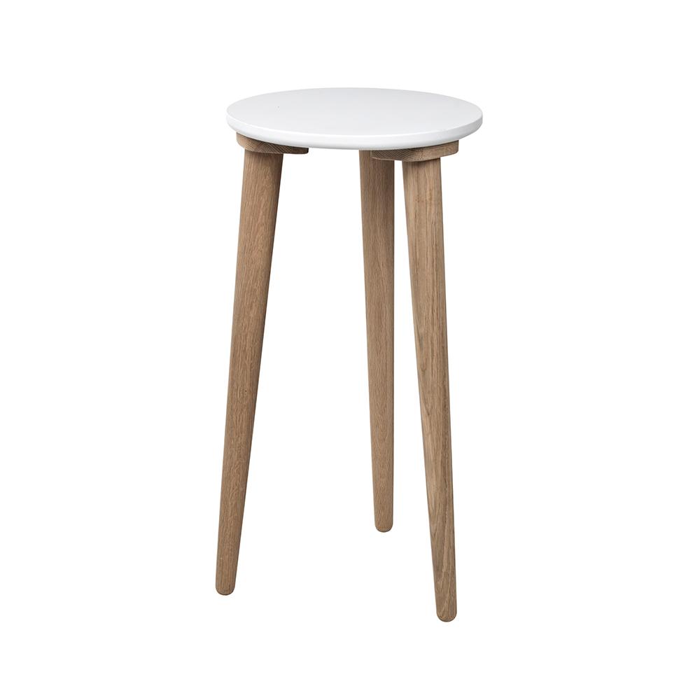 jeny pall 60 cm vit natural broste copenhagen broste copenhagen. Black Bedroom Furniture Sets. Home Design Ideas