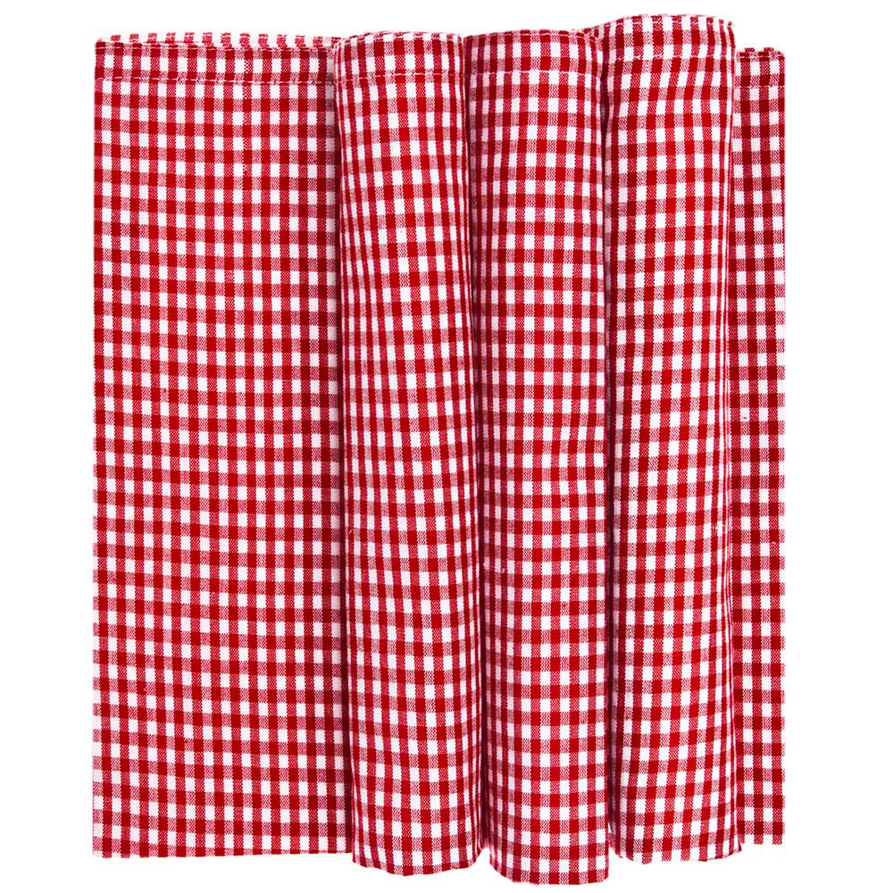 Servett Skagen 50x50cm 4-pack Röd