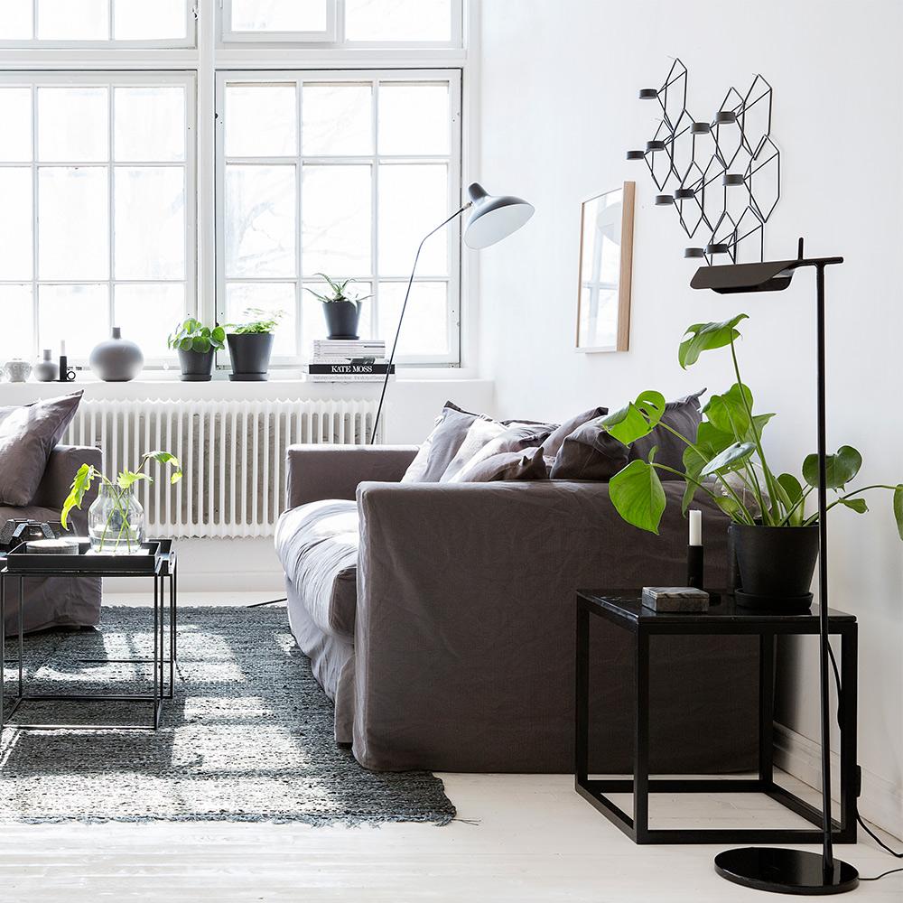 Le Grand Air 3-Sitssoffa, Grå, Decotique