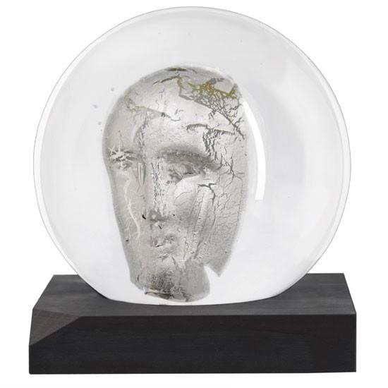 Headman skulptur Silver