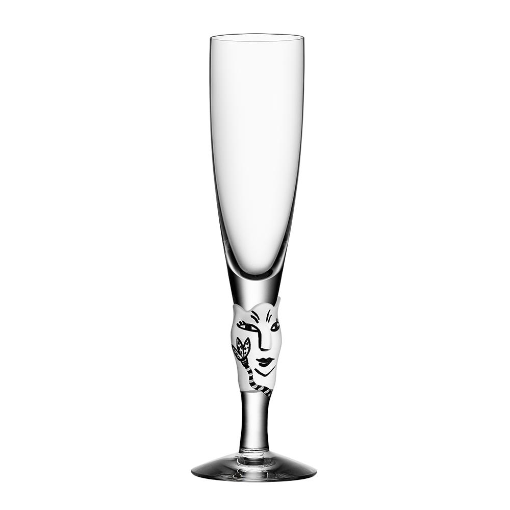 Open Minds Champagneglas Vit