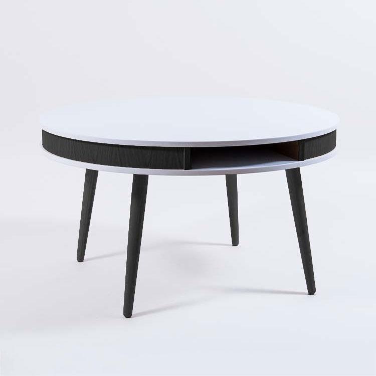 Hugo Soffbord Vit/Svart