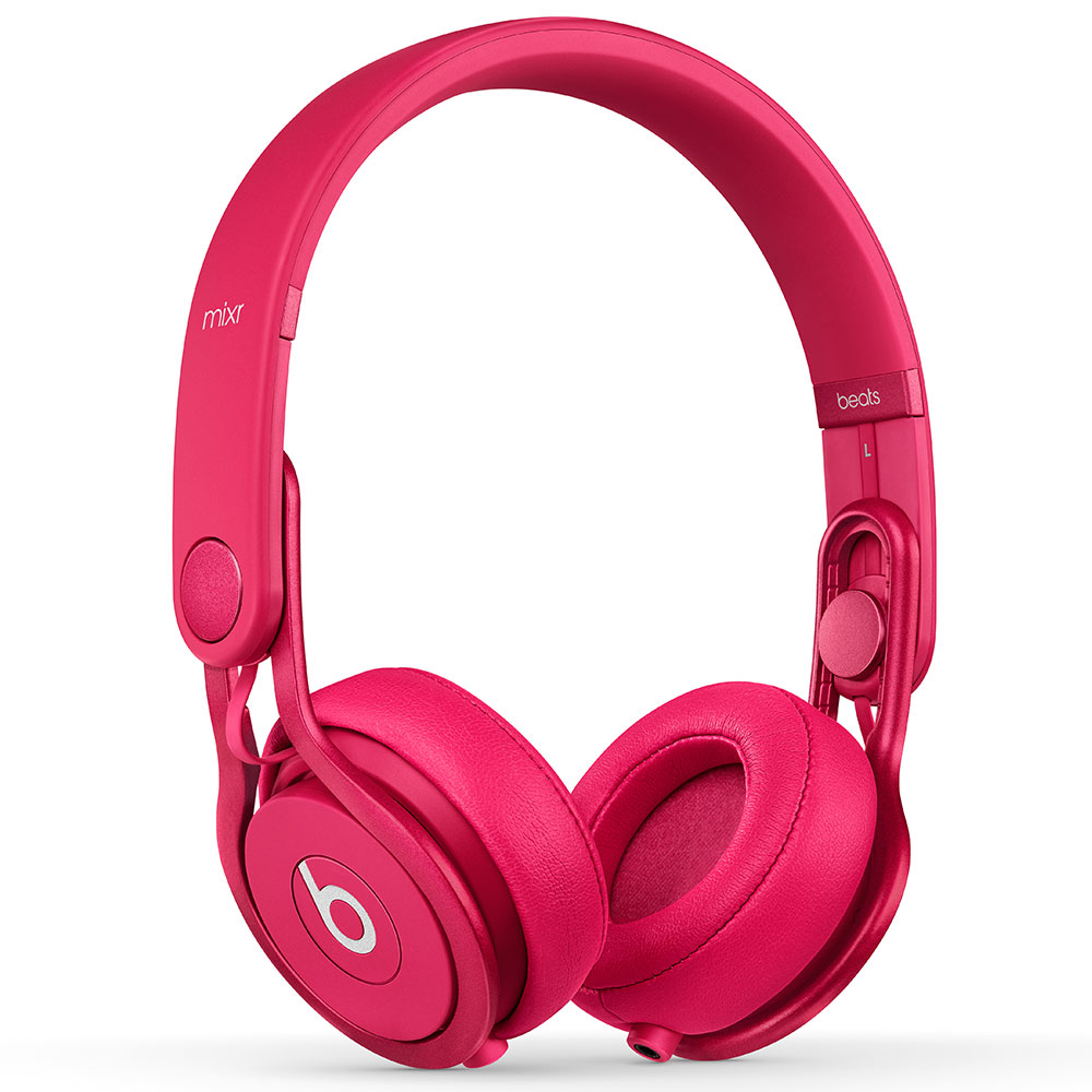 BEATS Hörlur Mixr On-Ear, Rosa