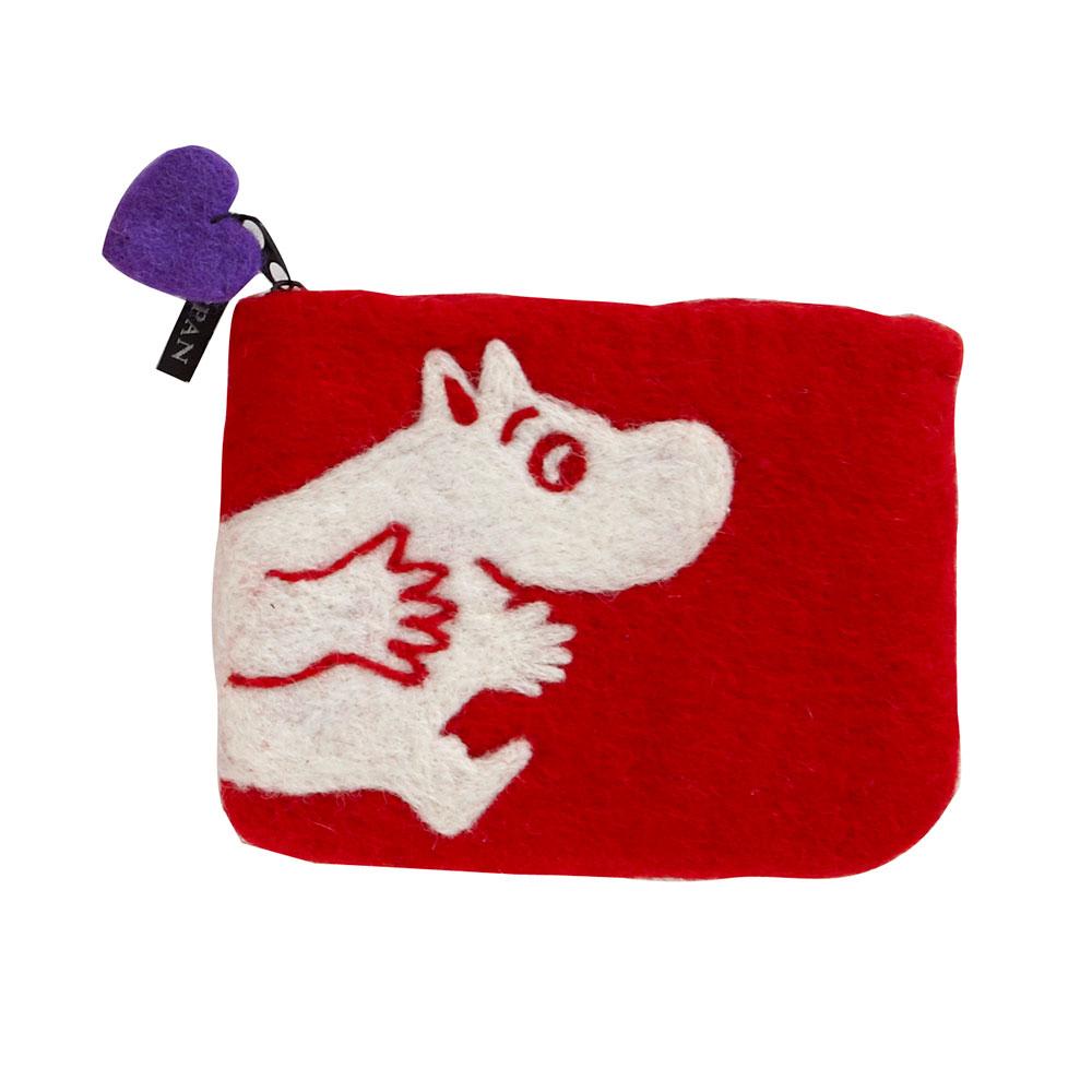 Moomin Portmonnä Röd