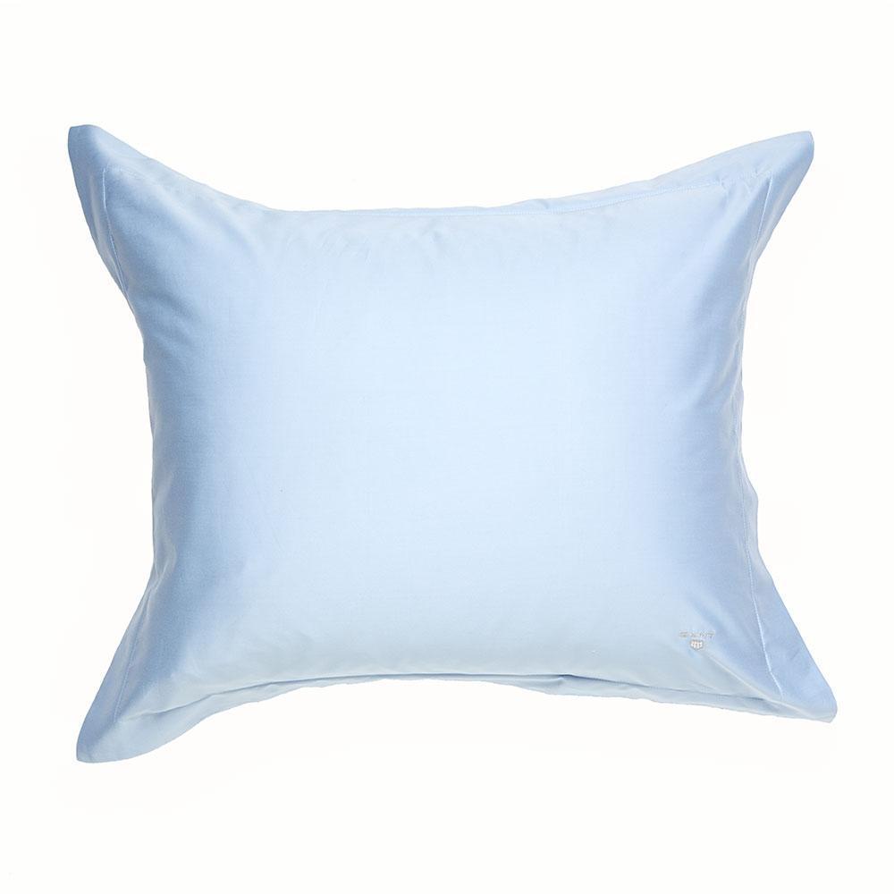 Solid Sateen Örngott 60×50 cm, Ljusblå