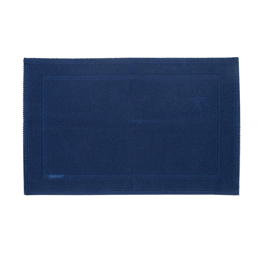gant home badrumsmatta 90x60cm midnight blue gant home gant home. Black Bedroom Furniture Sets. Home Design Ideas