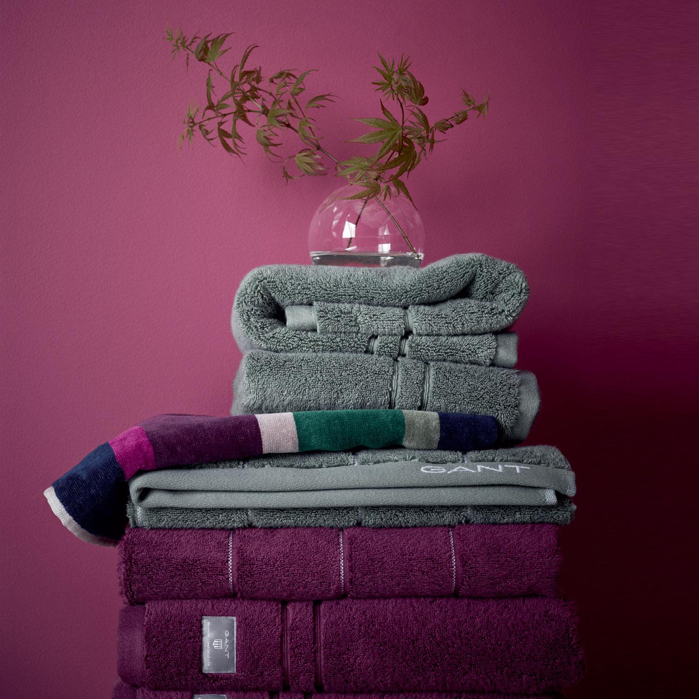 handla bästsäljare utförsäljning auktoriserad webbplats bra kvalitet välkänd heta produkter gant handdukar lila ...