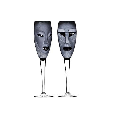Billiga champagneglas