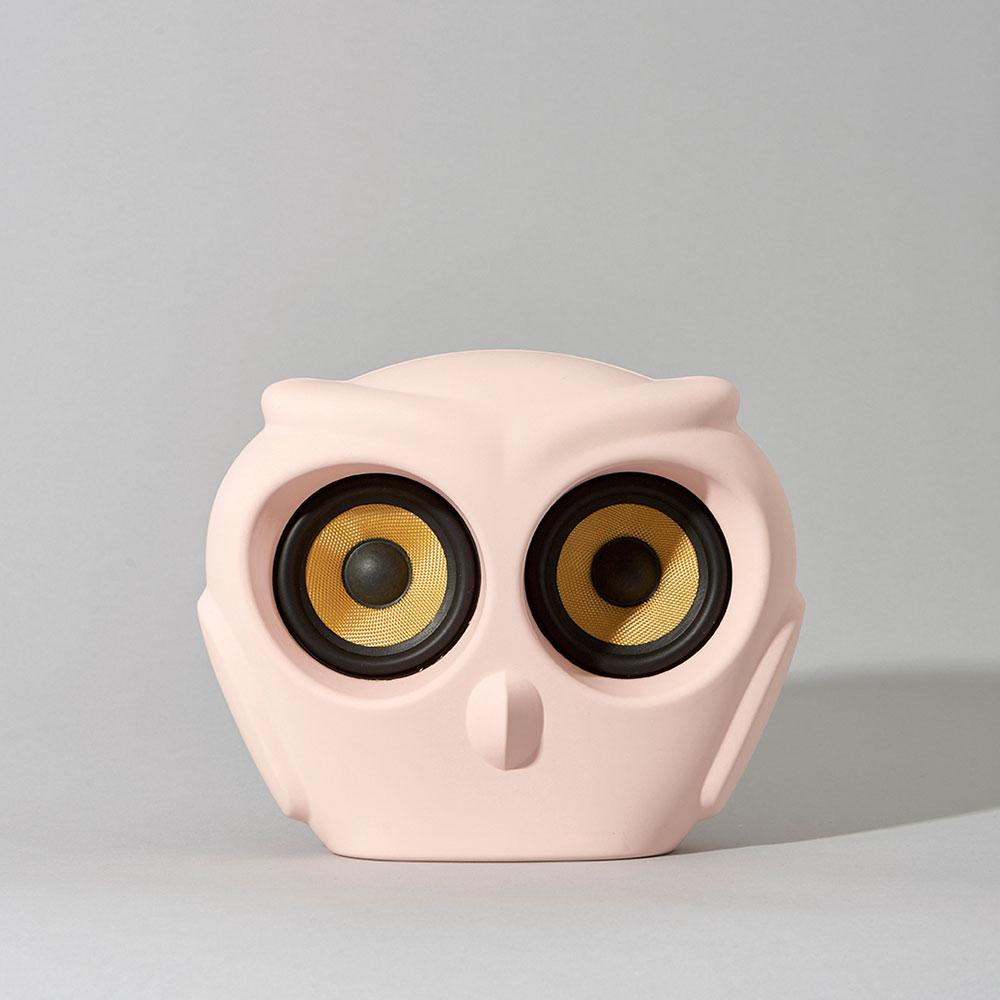 aOwl Högtalare Dusty Pink