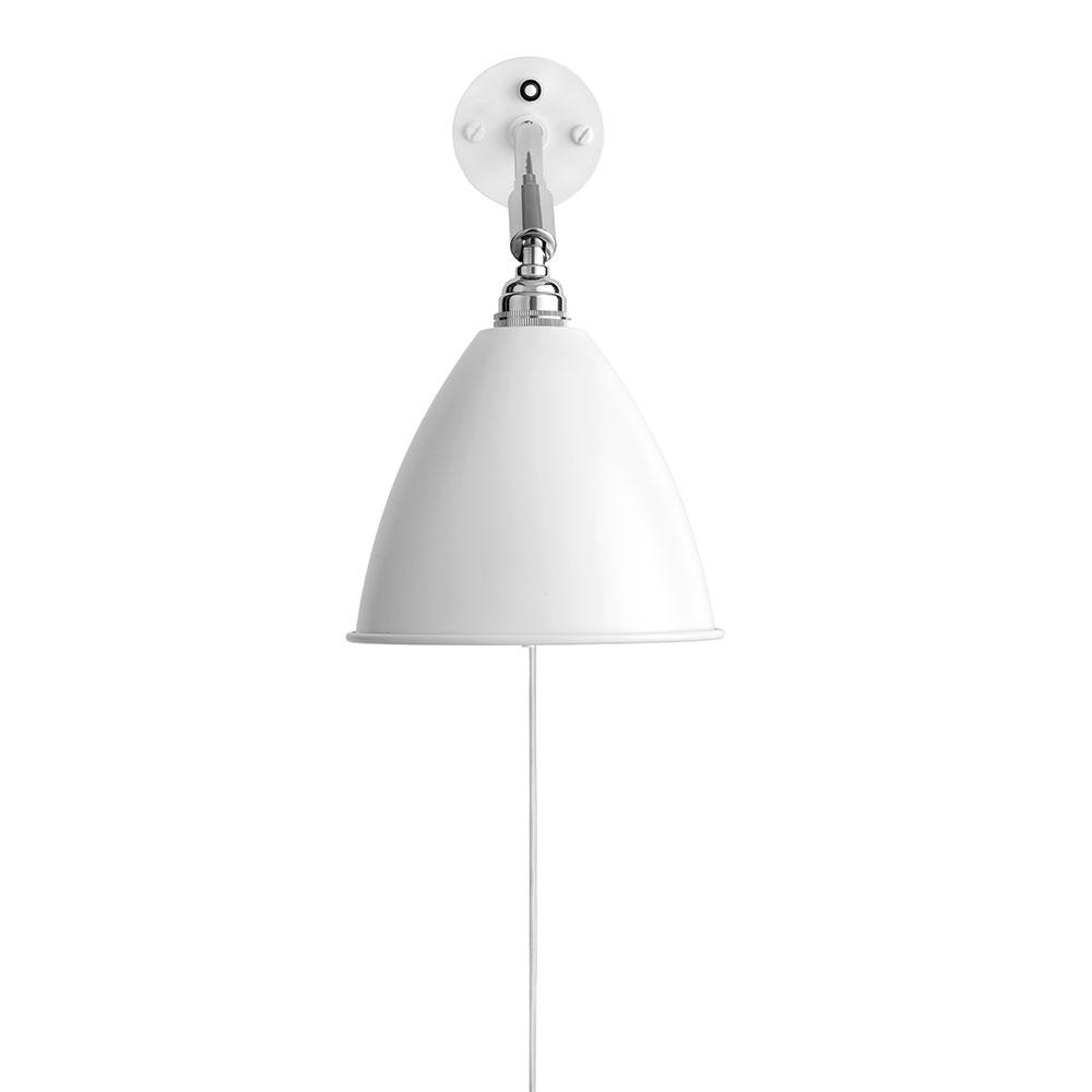 Bestlite BL7 Vägglampa Krom/Vit