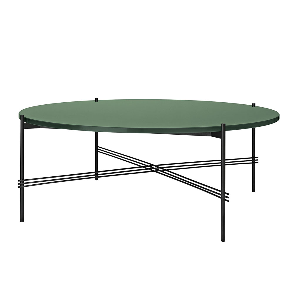 Ts Bord XL ø105cm H41cm Dustygreen Glass