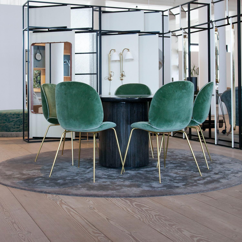 Beetle Lounge Stol, Grön, Gubi